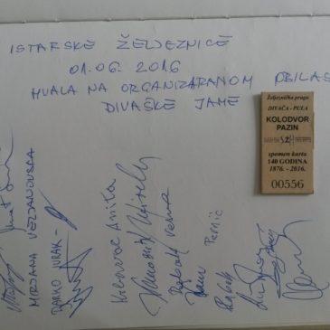 Železničarski praznik v Divači 2016