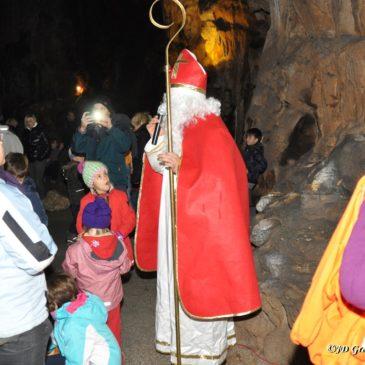 Miklavževanje v Divaški jami 2015