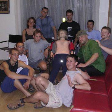 Obisk Čeških jamarjev z društva Planivy