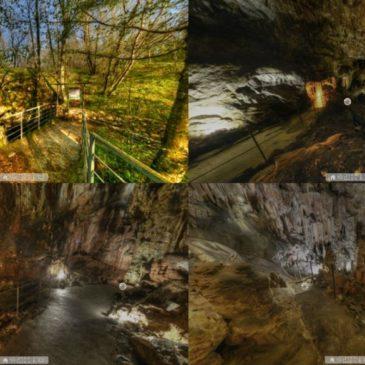 Virtualna resničnost Divaške jame