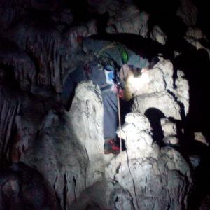 Plezanje v stranski rov - Lukov škf.