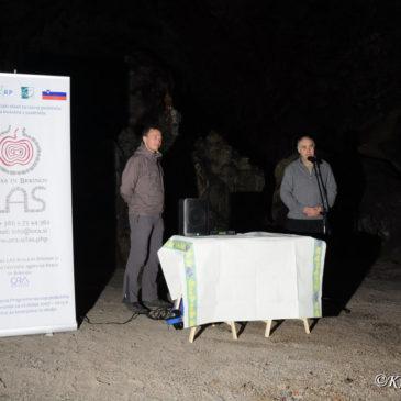 Otvoritev novih ograj in razsvetljave v Divaški jami