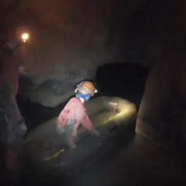Kačna jama – 20 km rovov!