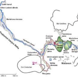 Smer fosilnih rovov Skrite jame